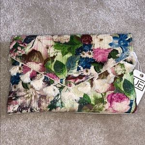Urban Expressions floral purse clutch NEW
